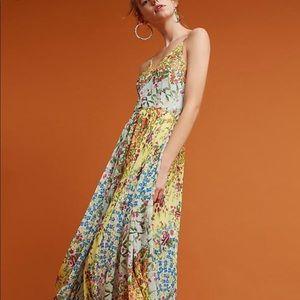 Yumi Kim XS  Floral Maxi Dress